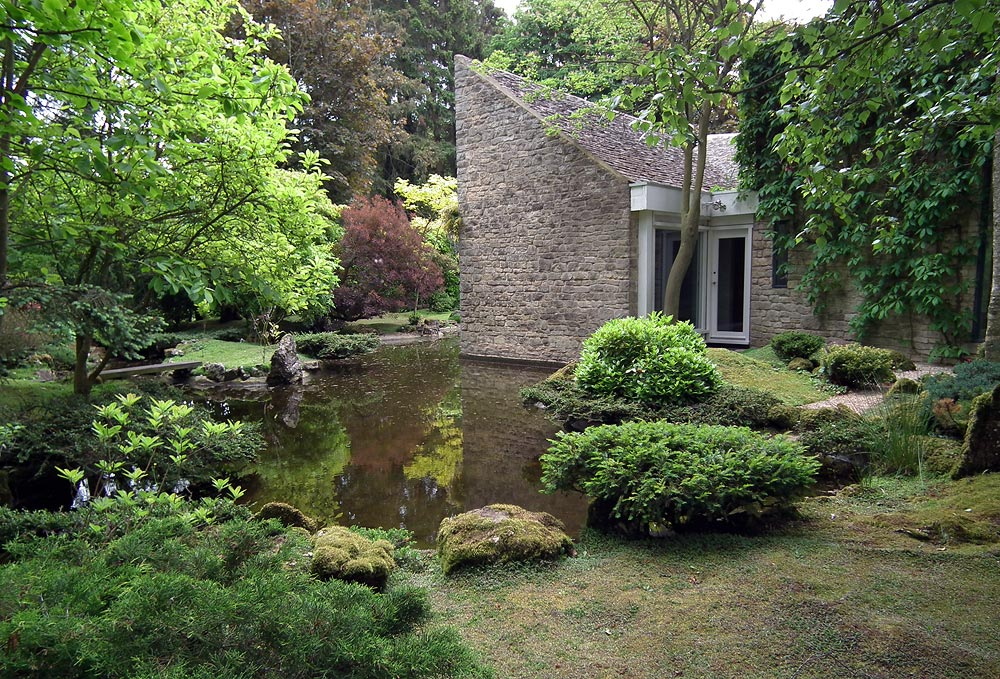 Japanese House Design On Town Line Road Japanese Garden In Shipton Under Wychwood